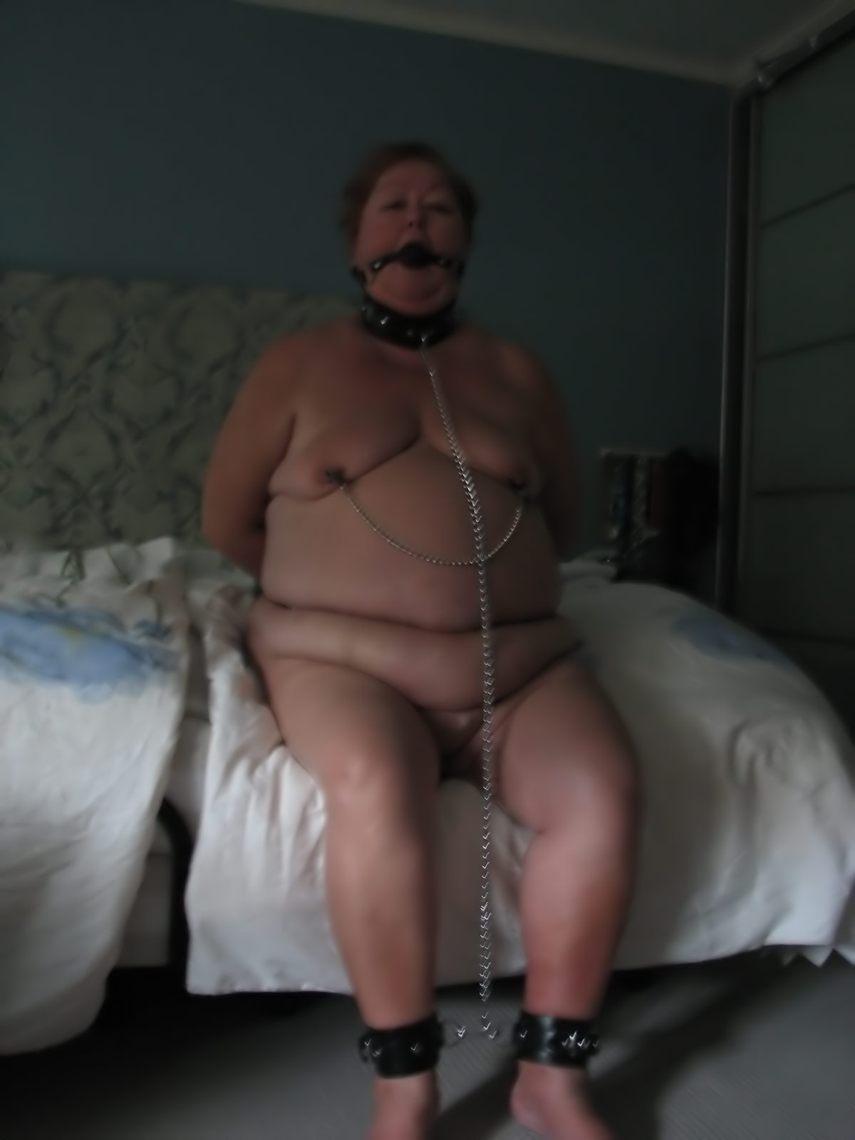 Fat chicks bondage