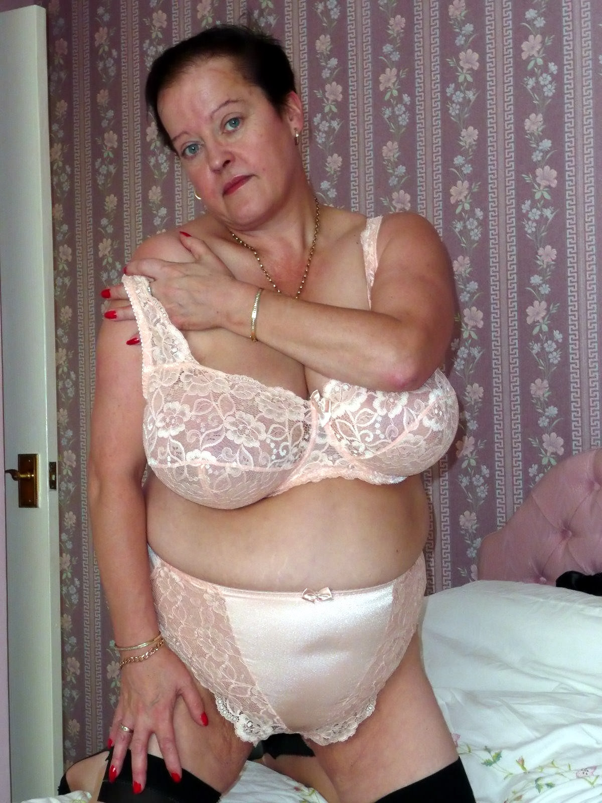 Lingerie slutty mature