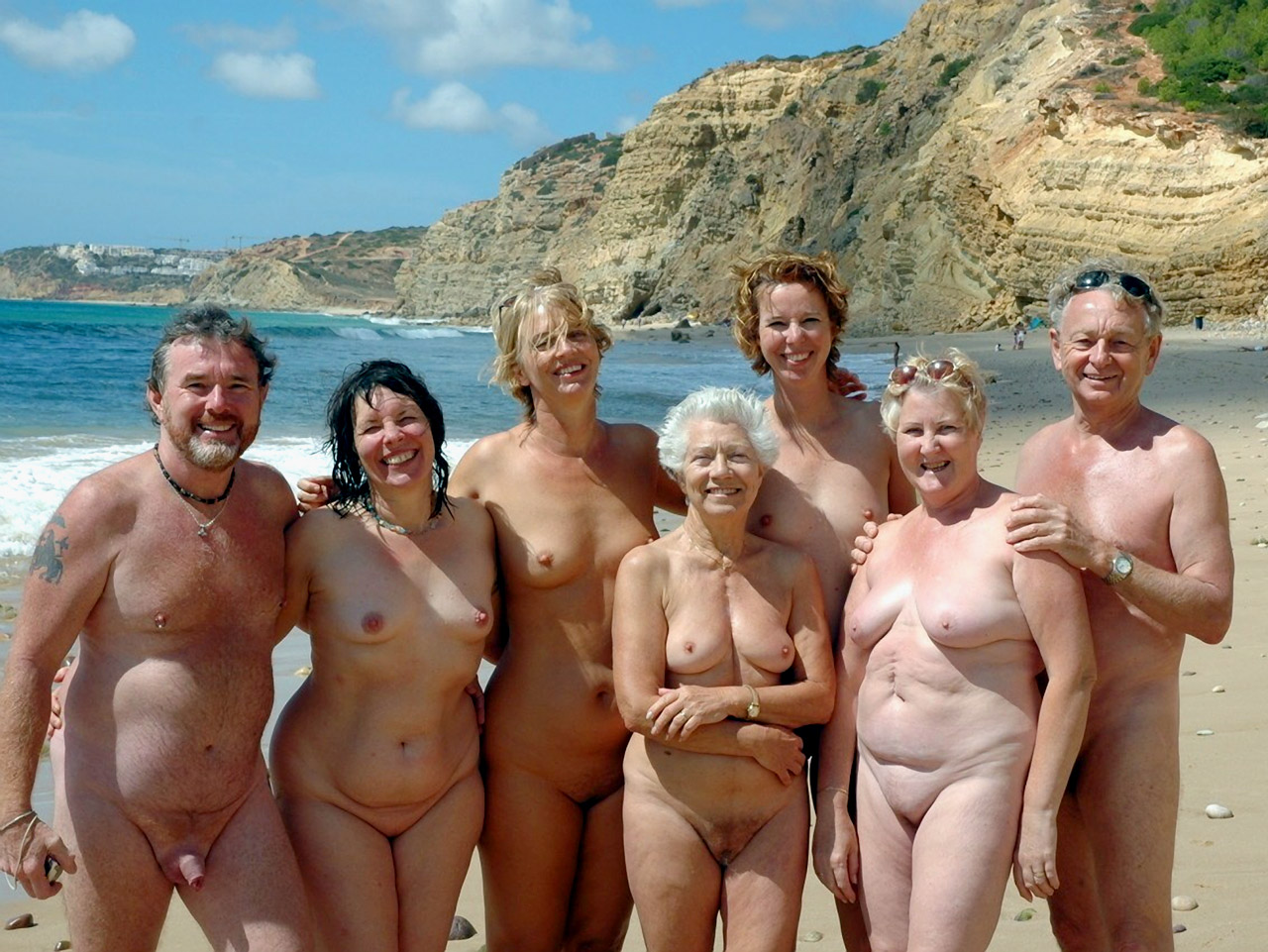 Mature naked groups